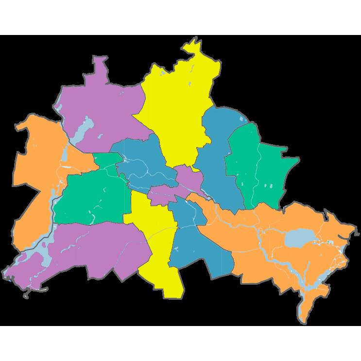 Bezirke Berlins